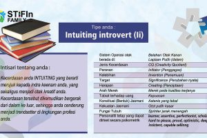 Hasil Tes STIFIn Intuiting introvert